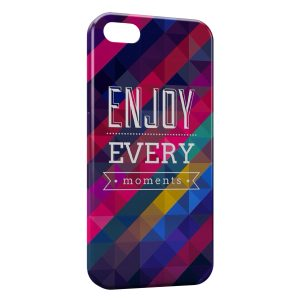 Coque iPhone 5C Enjoy Every Moments