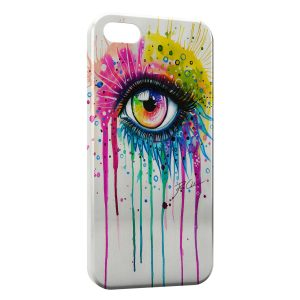 Coque iPhone 5C Eye Colors Power