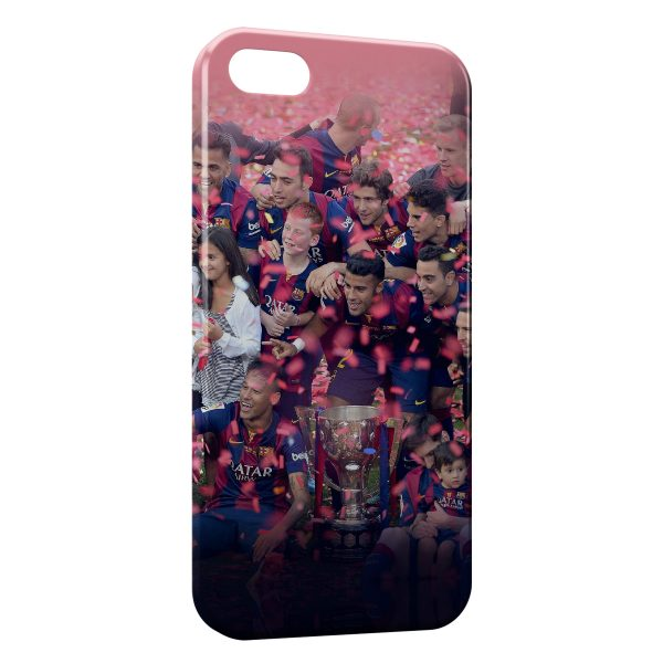 Coque iPhone 5C FC Barcelone FCB Football 21