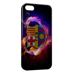Coque iPhone 5C FC Barcelone FCB Football 43