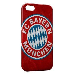 Coque iPhone 5C FC Bayern de Munich Football Red 12