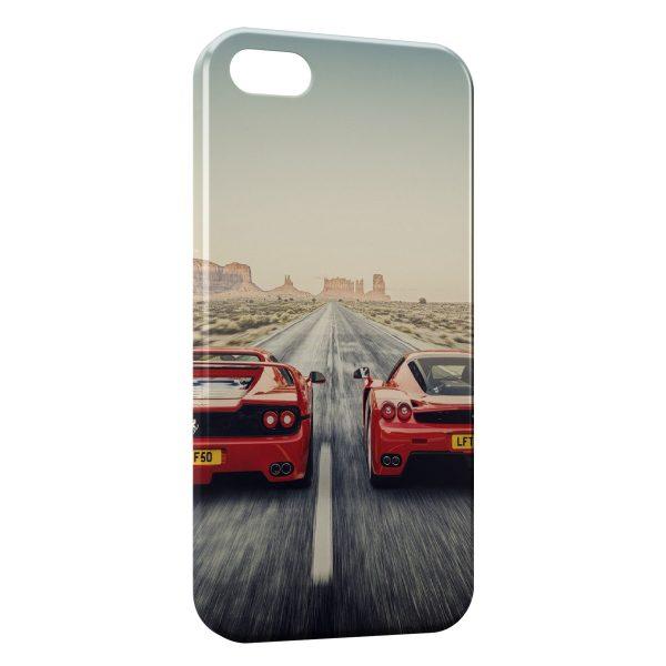 Coque iPhone 5C Ferrari Battle 600x600