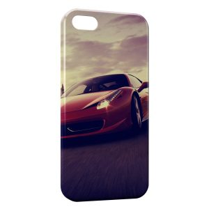 Coque iPhone 5C Ferrari Rouge Voiture Design 3