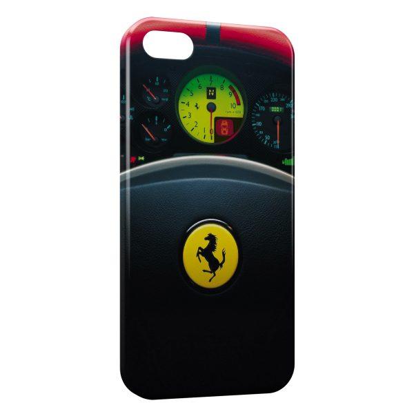 Coque iPhone 5C Ferrari Volant Voiture