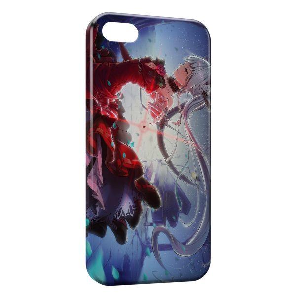 Coque iPhone 5C Fille Manga