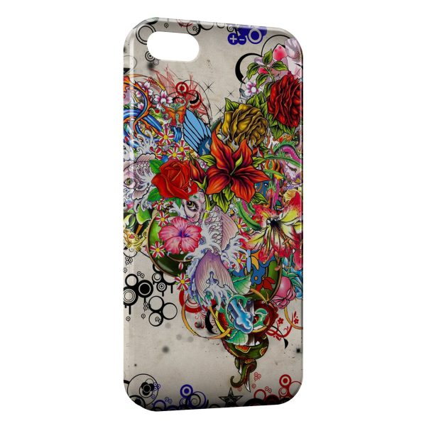 Coque iPhone 5C Fish Art