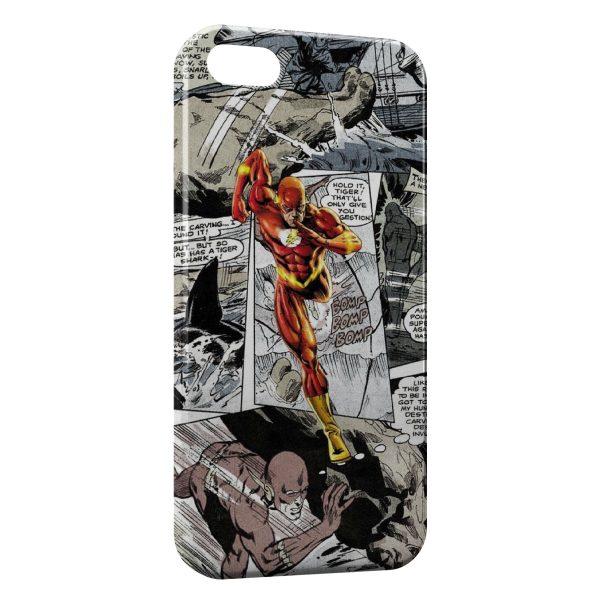Coque iPhone 5C Flash Comics 2
