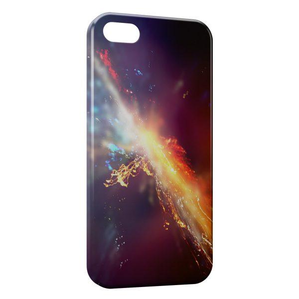 Coque iPhone 5C Flash Light Power