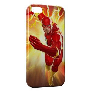 Coque iPhone 5C Flash Power Marvel Comic