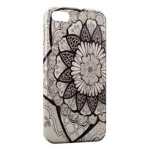 Coque iPhone 5C Fleur Design