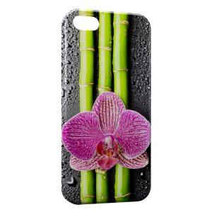 Coque iPhone 5C Fleurs Bambou
