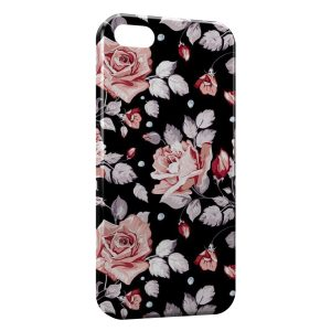 Coque iPhone 5C Fleurs Flowers Design 5