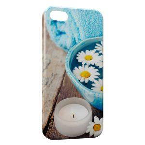 Coque iPhone 5C Fleurs Marguerites