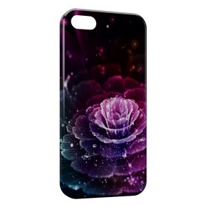 Coque iPhone 5C Flower Stars