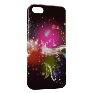 Coque iPhone 5C Flowers Multicolor Design