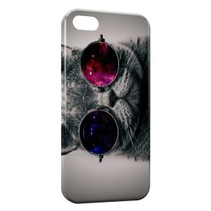 Coque iPhone 5C Funky Cat