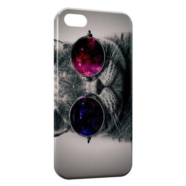 Coque iPhone 5C Funky Cat