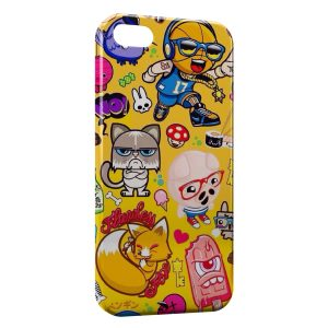 Coque iPhone 5C Funny Little Monsters