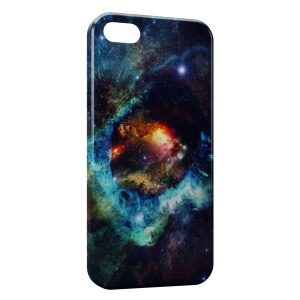 Coque iPhone 5C Galaxy 4