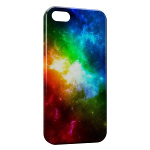 Coque iPhone 5C Galaxy Colors
