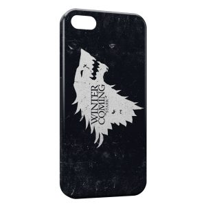 Coque iPhone 5C Game of Throne Winter is Coming Stark