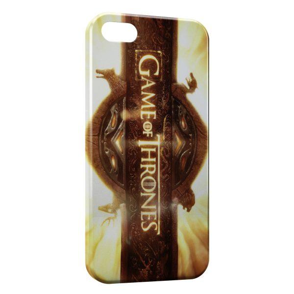 Coque iPhone 5C Game of Thrones