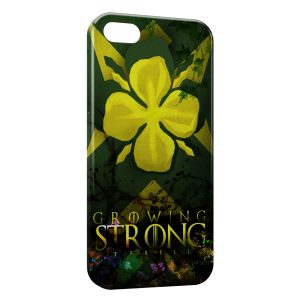 Coque iPhone 5C Game of Thrones Growing Strong Tyrrell