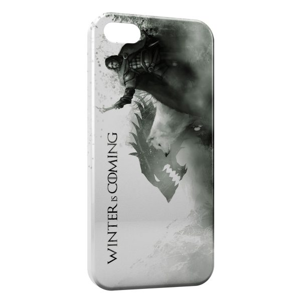 Coque iPhone 5C Game of Thrones Winter is Coming