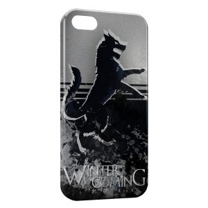 Coque iPhone 5C Game of Thrones Winter is Coming Stark