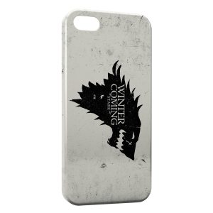 Coque iPhone 5C Game of Thrones Winter is coming 3