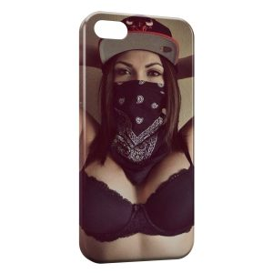 Coque iPhone 5C Girl Hardcore