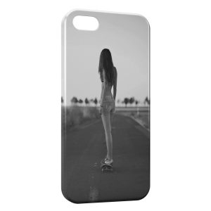 Coque iPhone 5C Girl Sexy Skater 1