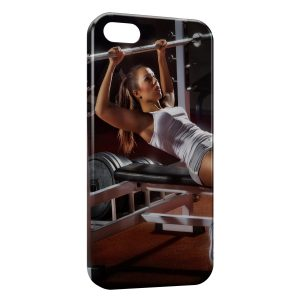 Coque iPhone 5C Girl Sport Fitness