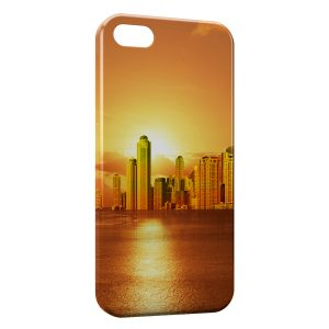 Coque iPhone 5C Golden City