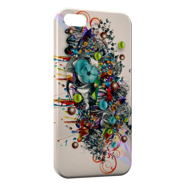 Coque iPhone 5C Graffiti Style Design