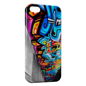 Coque iPhone 5C Graph Tag Art