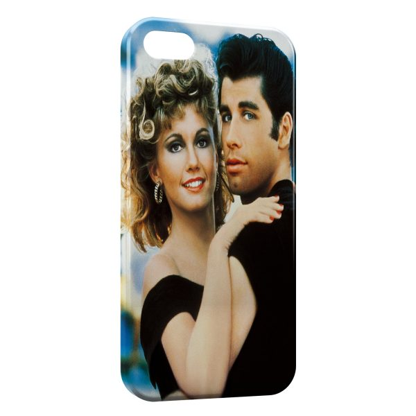 Coque iPhone 5C Grease Olivia Newton-John John Travolta