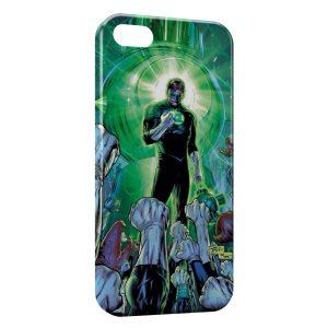 Coque iPhone 5C Green Lantern 2