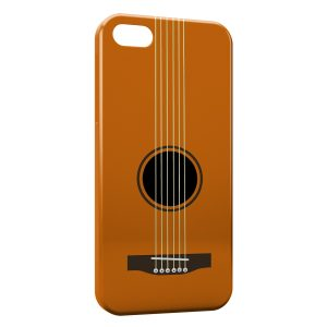 Coque iPhone 5C Guitare Cordes 2