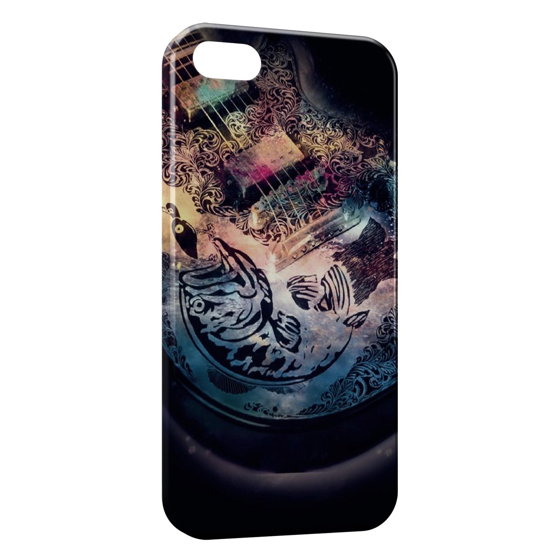 Coque iPhone 5C Guitare Design 2