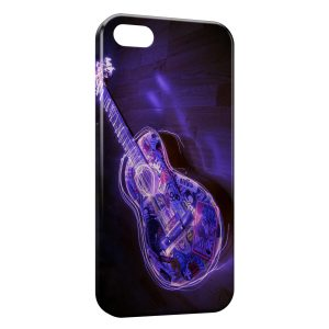 Coque iPhone 5C Guitare Electro