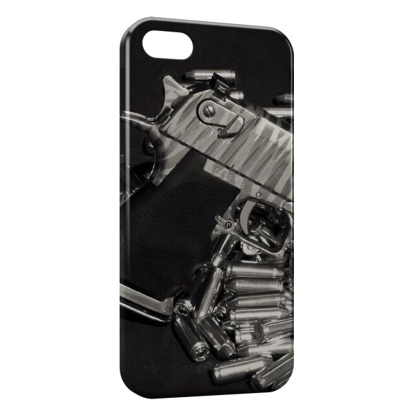 Coque iPhone 5C Guns & Bullets