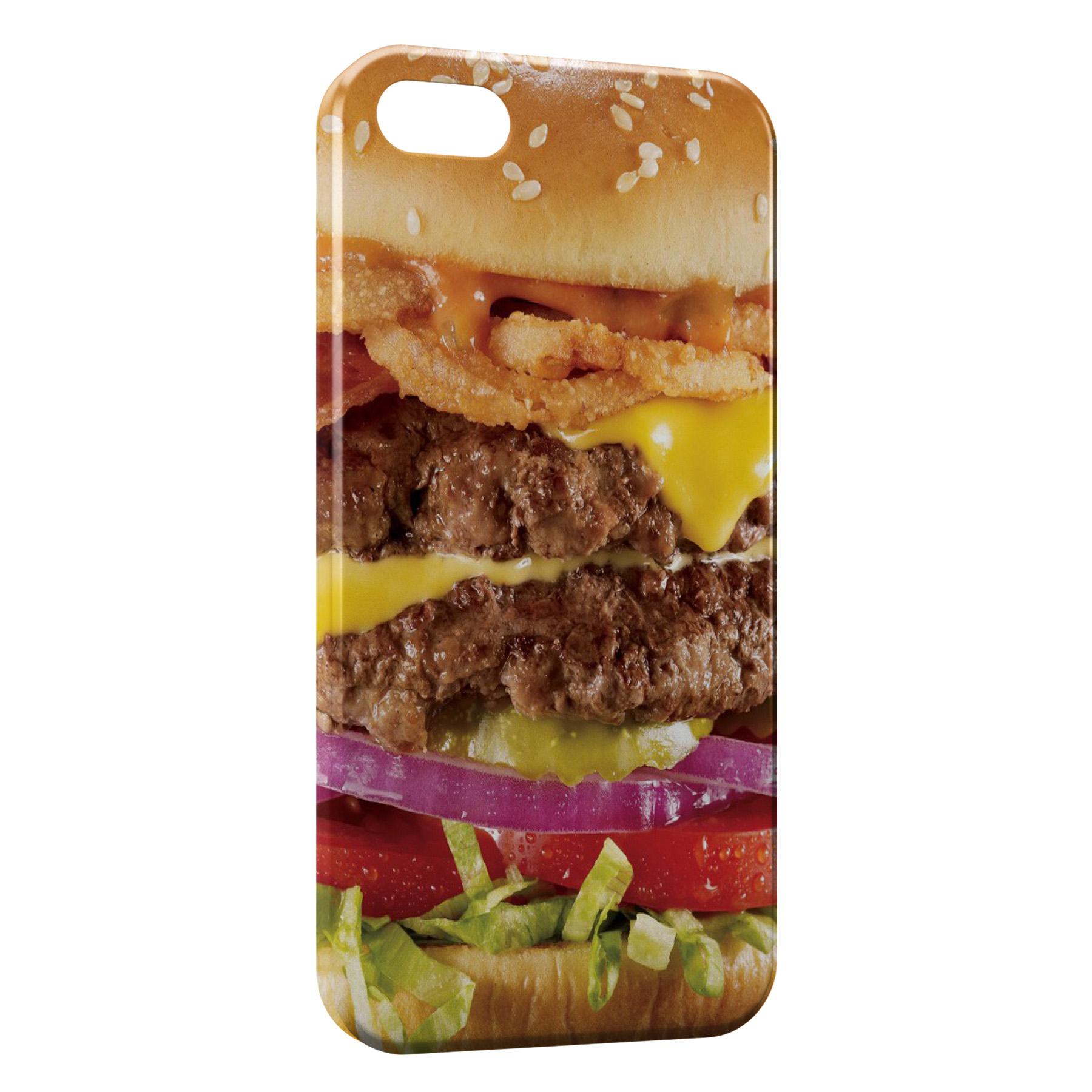 Coque iPhone 5C Hamburger