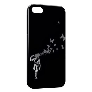 Coque iPhone 5C Headshot Birds