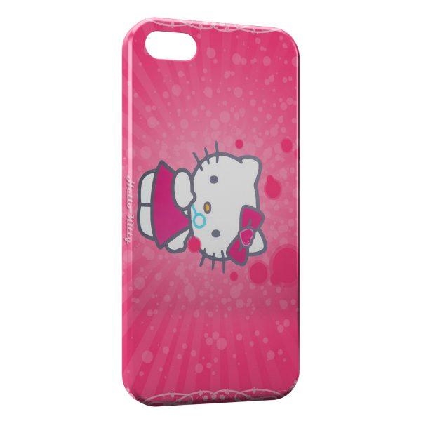 Coque iPhone 5C Hello Kitty 3