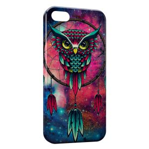 Coque iPhone 5C Hiboux Catch Dreamer Graphic 2