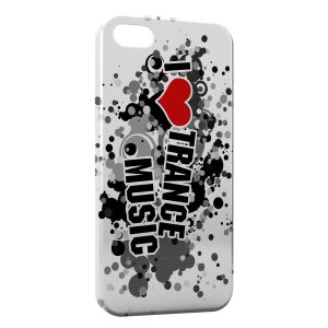 Coque iPhone 5C I Love Trance Music