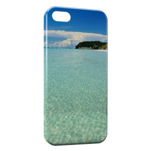 Coque iPhone 5C Ile paradisiaque
