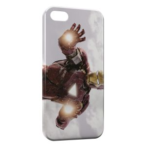 Coque iPhone 5C Iron Man FirePower