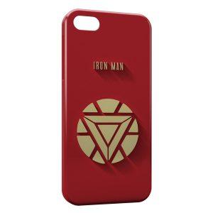 Coque iPhone 5C Iron Man Logo